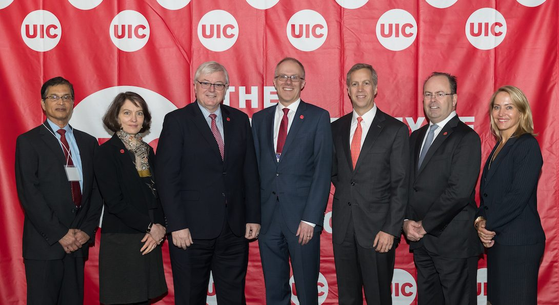 UIC and Deerfield leadership
