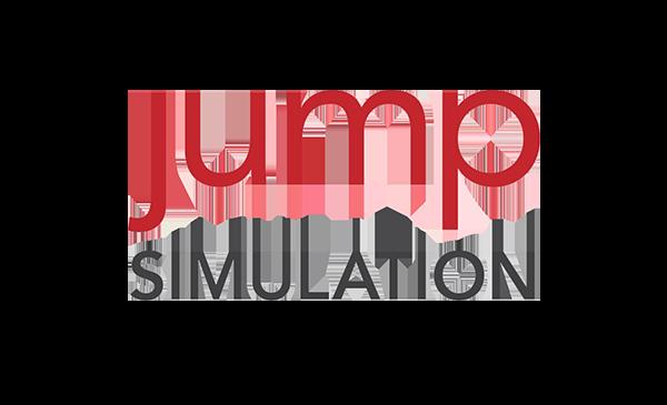 jump simulation logo